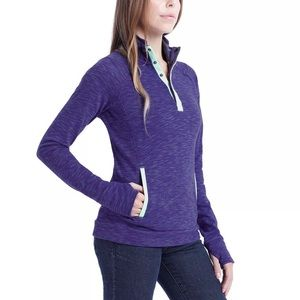 Avalanche Ladies' Loma Snap Neck Pullover